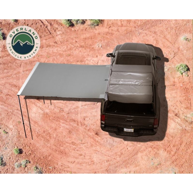 """Nomadic Awning 2.0 - 6.5"""" With Black Cover"""