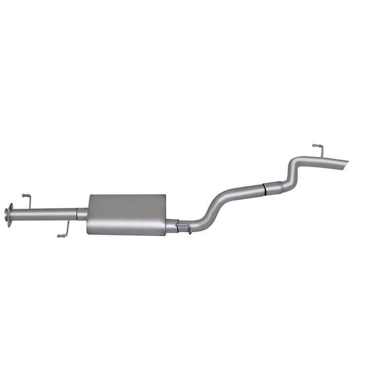 Cat Back Single Exhaust System, Stainless 618809