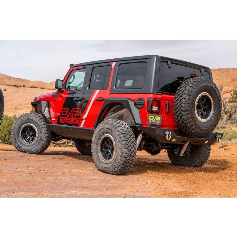Jeep JL Inner Fenders (Rear Raw) 18-Present Wrangl