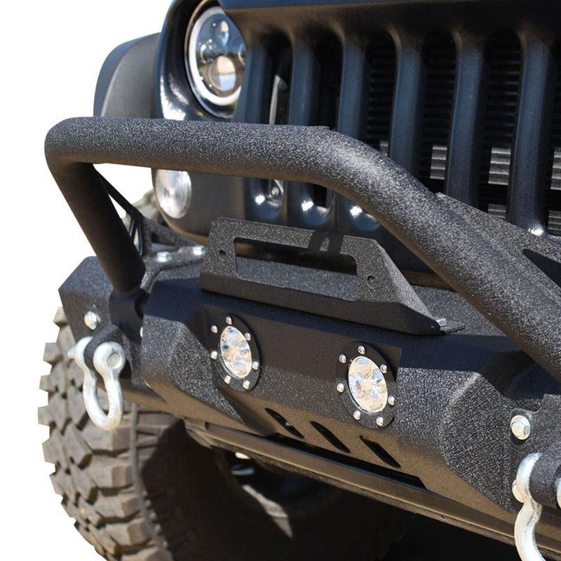Jeep JK Front Bumper w/LED Lights 07-18 Wrangler J
