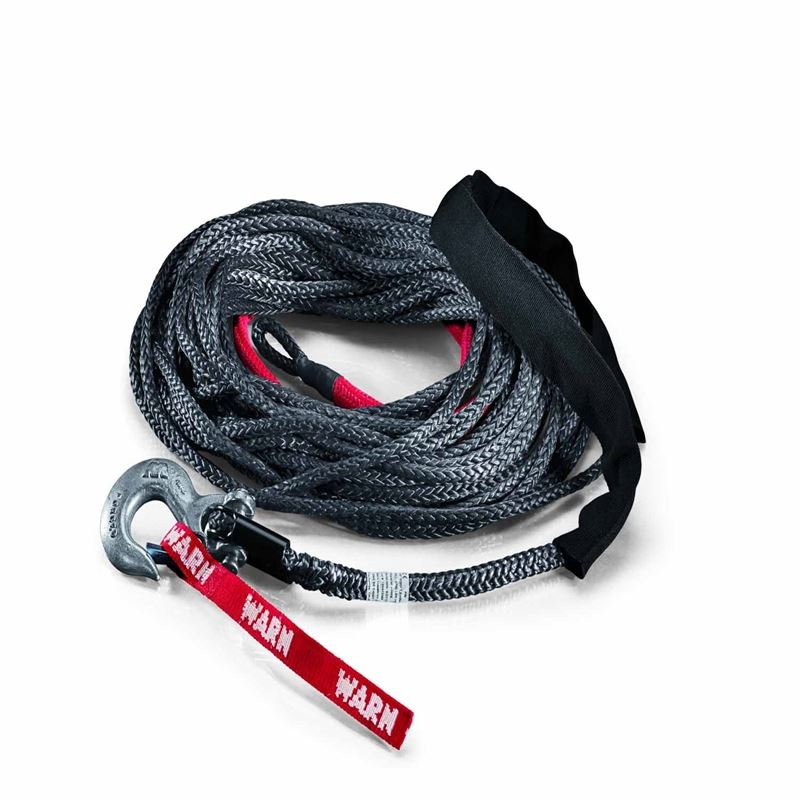 10,000 Lb 3/8 Dia X 80 Ft Poly Rope Winch