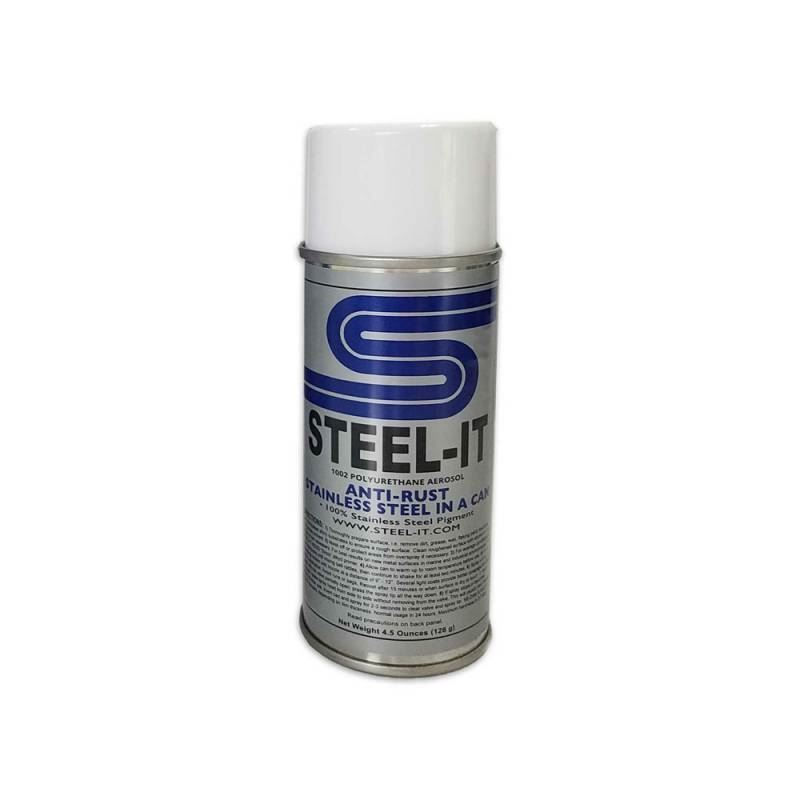 STAINLESS STEEL POLYURETHANE COATING 4.5OZ CAN
