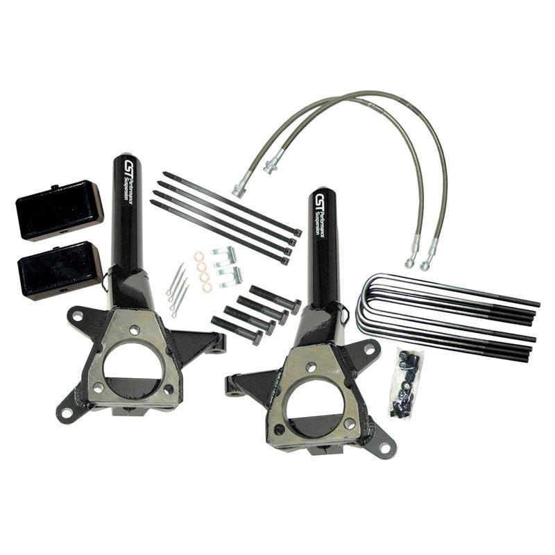 04-15 Titan 2WD/4in. Lift Kit-(no shocks)