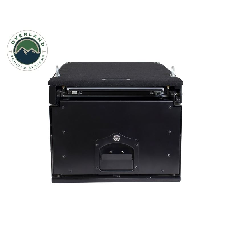 Cargo Box With Slide Out Drawer and Working Statio
