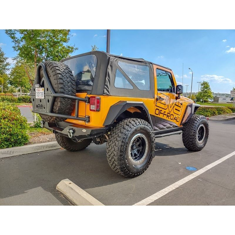 Jeep JK Bolt On Armor Style Fenders Front and Rear