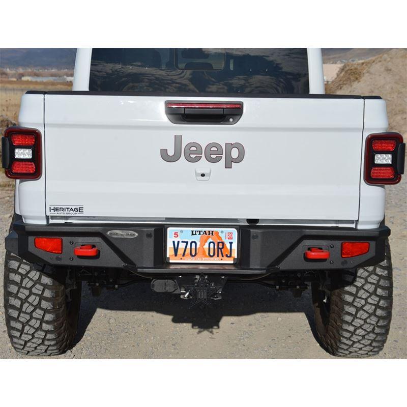 Gladiator Full Rear Bumper For 20-Pres Jeep Gladia