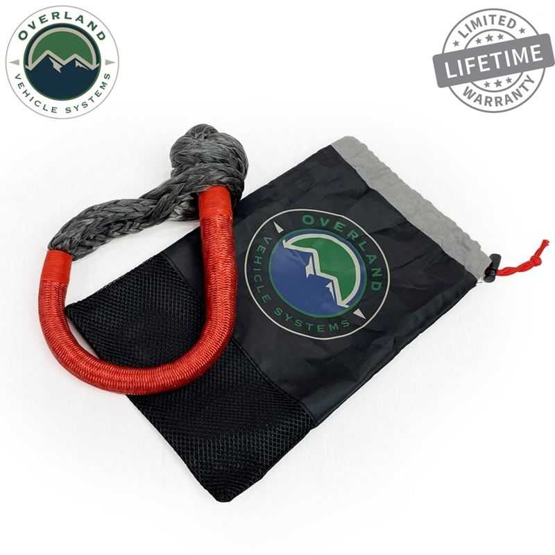 """Soft Shackle 5/8"""" 44,500 lb. With Loop and Ab"""