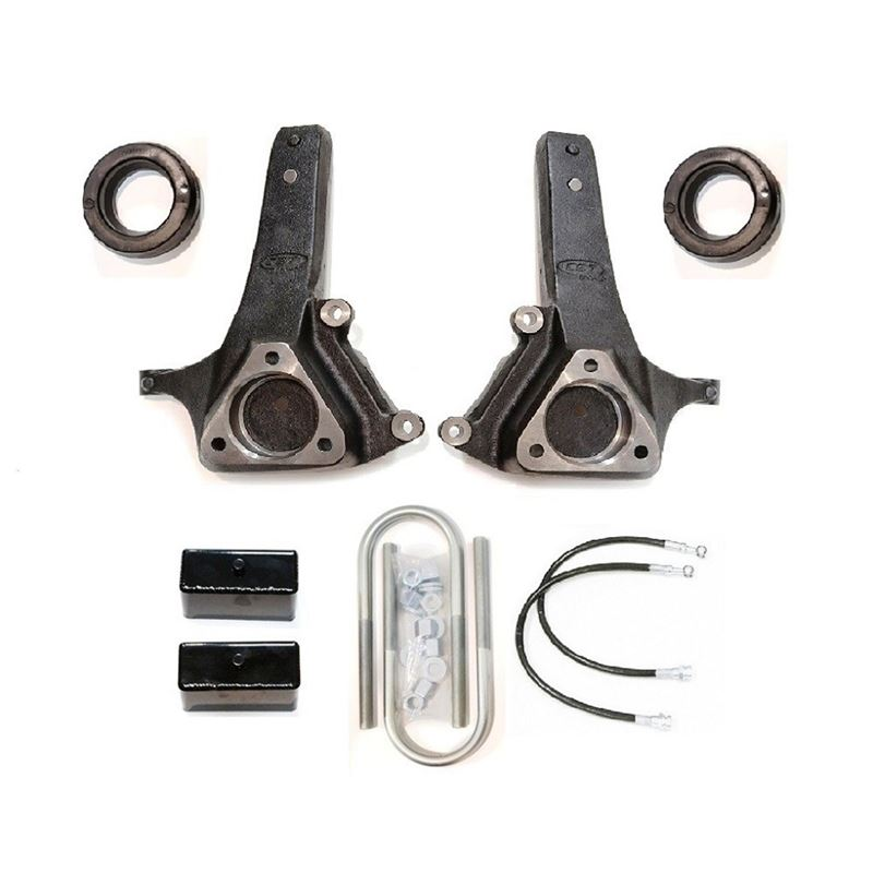 06-08 RAM 1500 2WD/7in. Lift Kit w/cast spindles-(