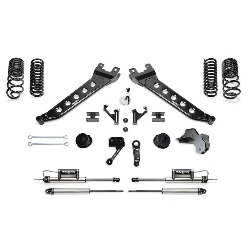 "5"" RADIUS ARM LIFT KIT W/COIL SPACERS AND FRO"