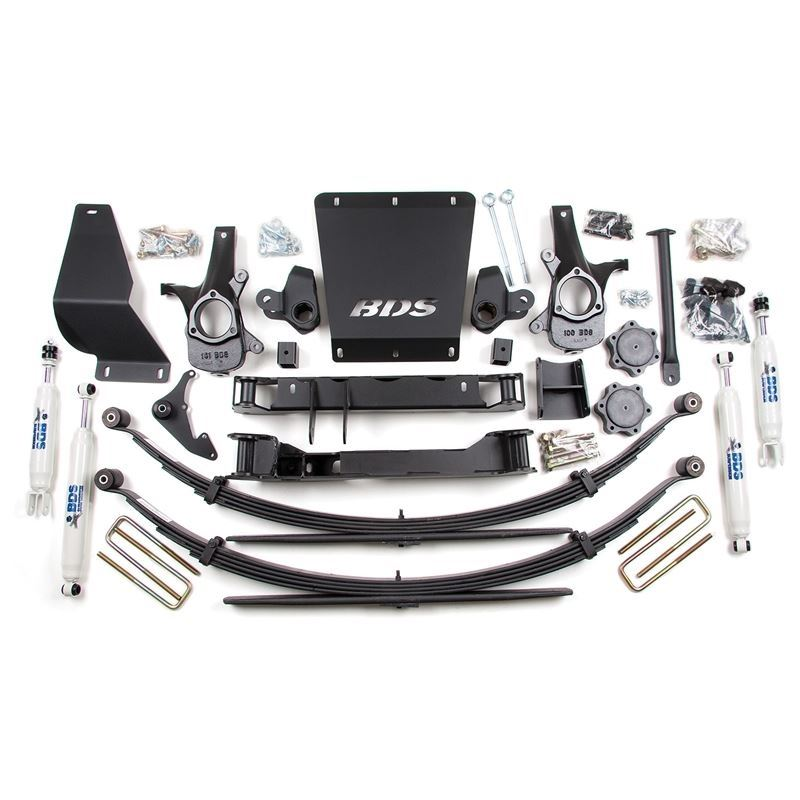 BDS - 4.5in Front/3.5in Rear Springs