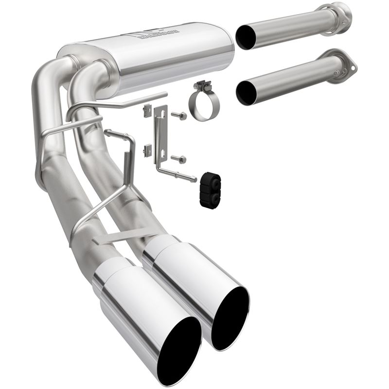 Street Series Stainless Cat-Back System