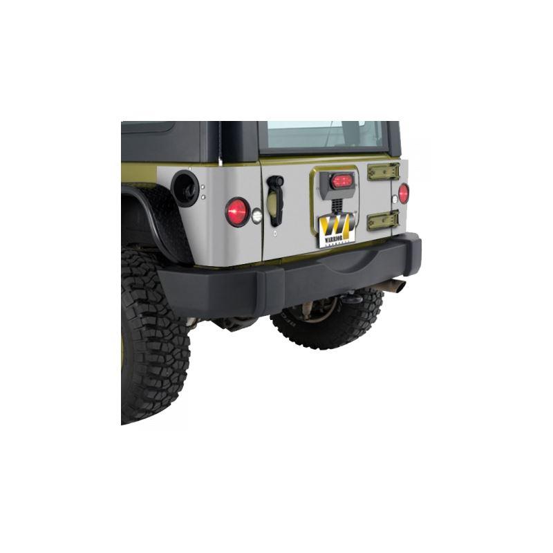 Jeep JK/JKU Outer Tailgate Cover Kit 920D-4PA