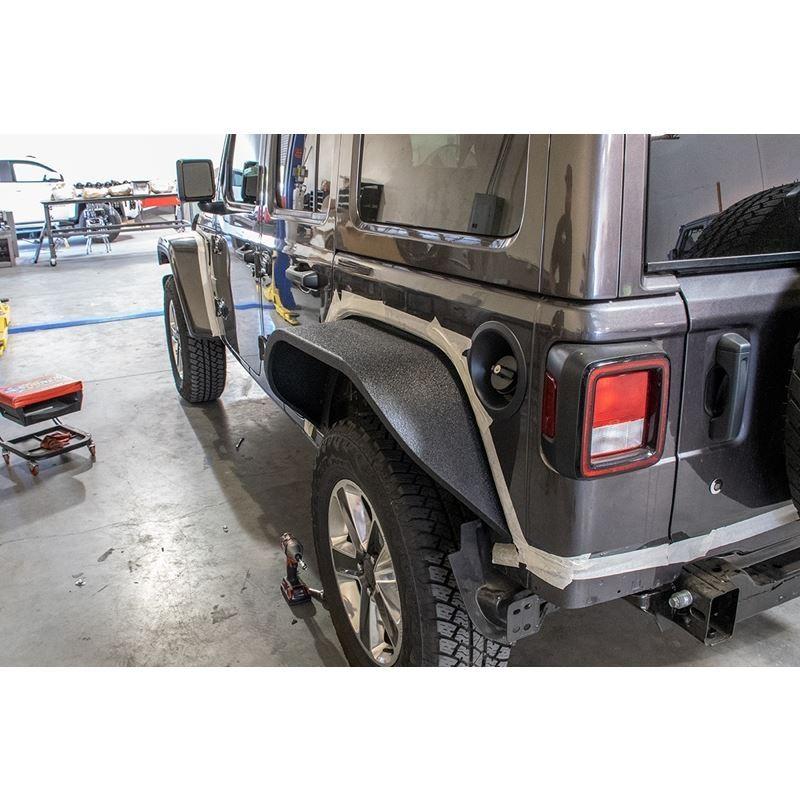 Jeep JL Wide Flat Fenders Set of 4 18-Present Wran