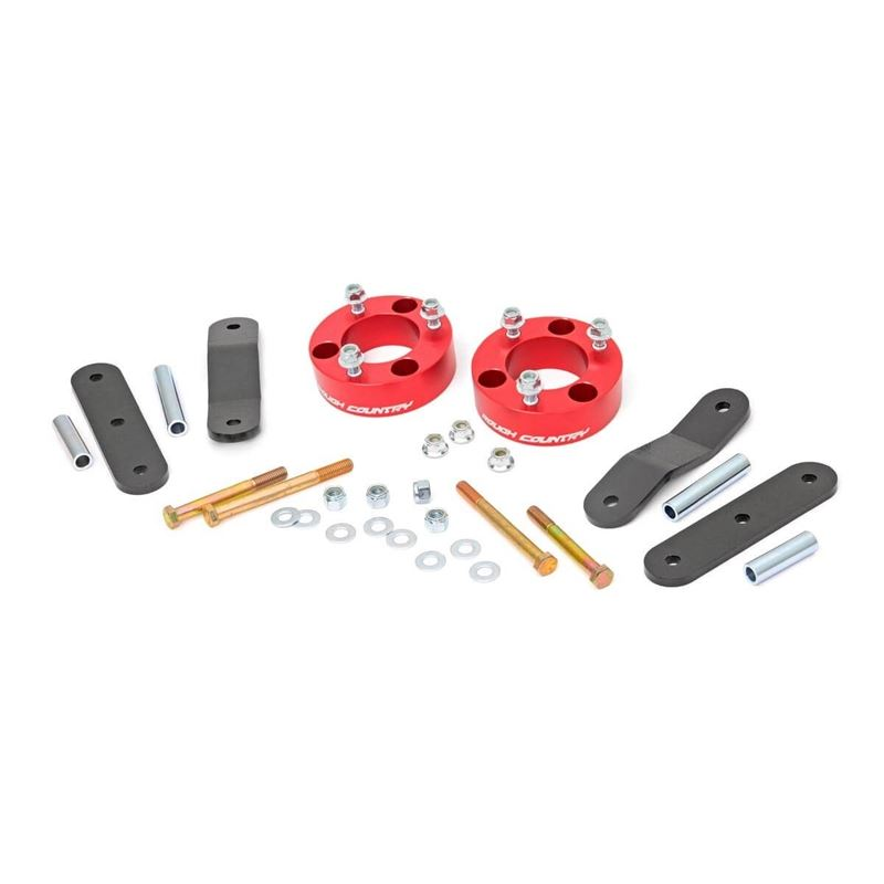 2.5 Inch Nissan Suspension Lift Kit Red 05-19 Fron