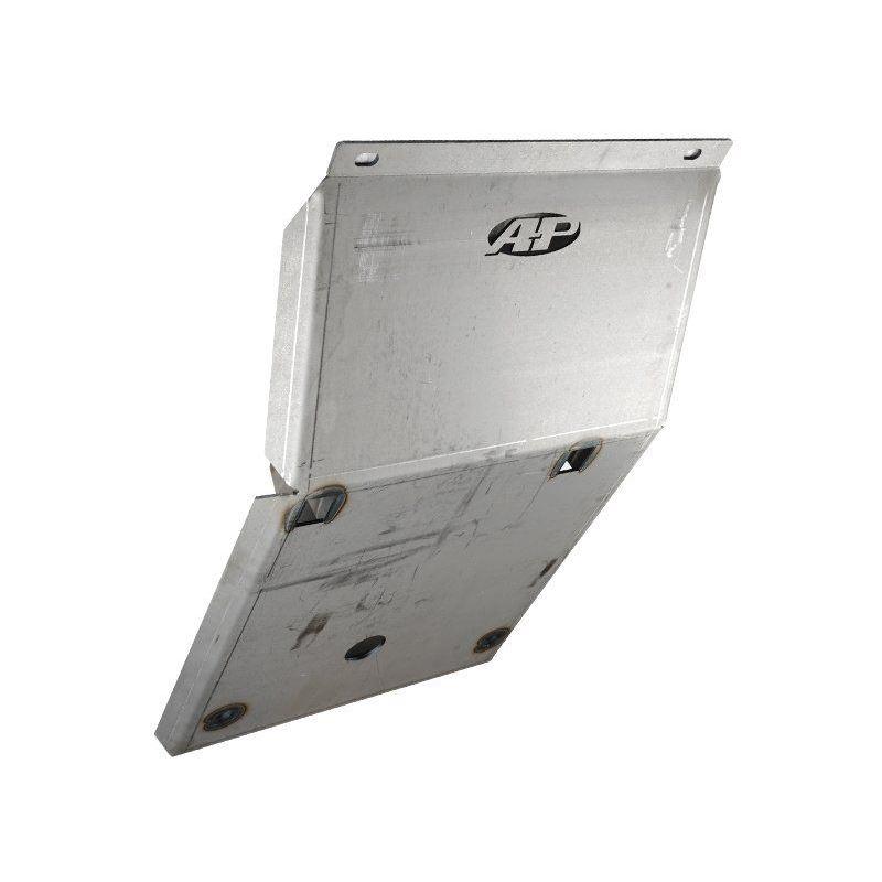 05-Present Toyota Tacoma Steel IFS Skid Plate Blac