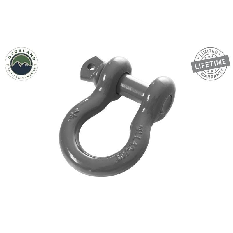 """Recovery Shackle 3/4"""" 4.75 Ton - Gray"""