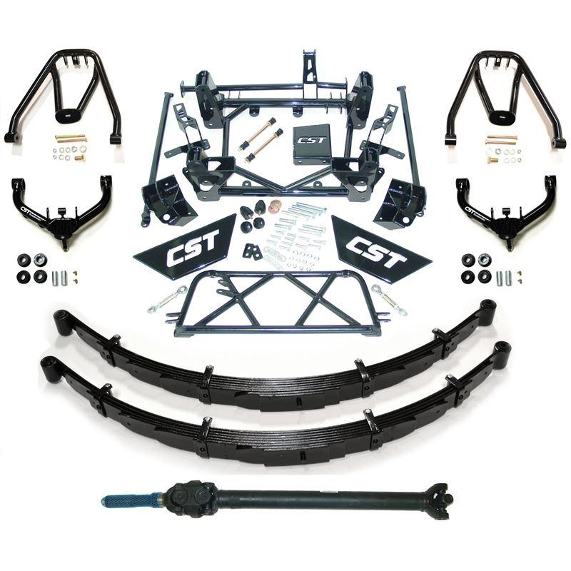 01-10 2500HD 4WD/9-11in. (w/Uniball UCA; hoops; dr