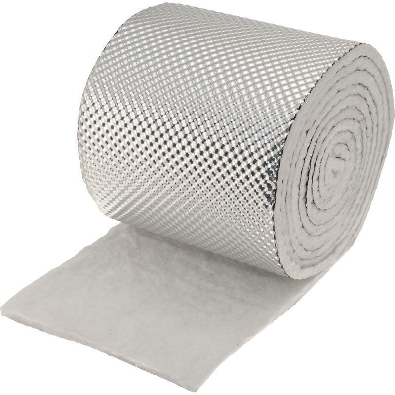 """Exhaust Pipe Heat Shield Armor 1/4 Thick 6"""" W"""