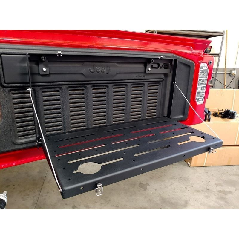 Jeep JL Tailgate Mounted Trail Table 18-Pres Wrang