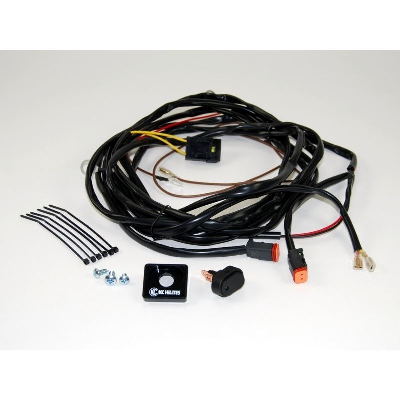 Wiring Harness for Two Lights with 2-Pin Deutsch C