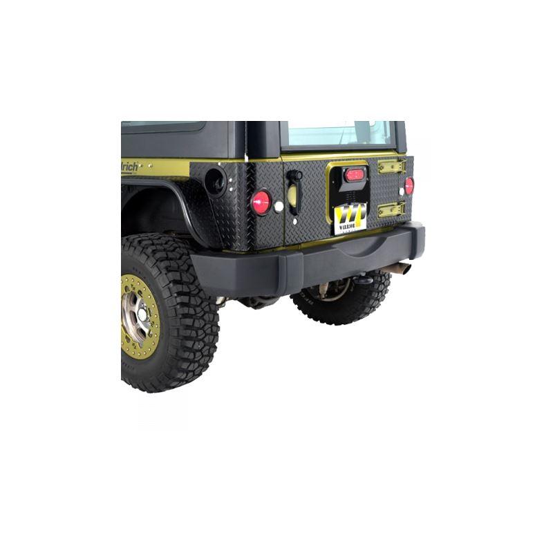 Jeep JK/JKU Inner Tailgate Cover Kit for Warrior L