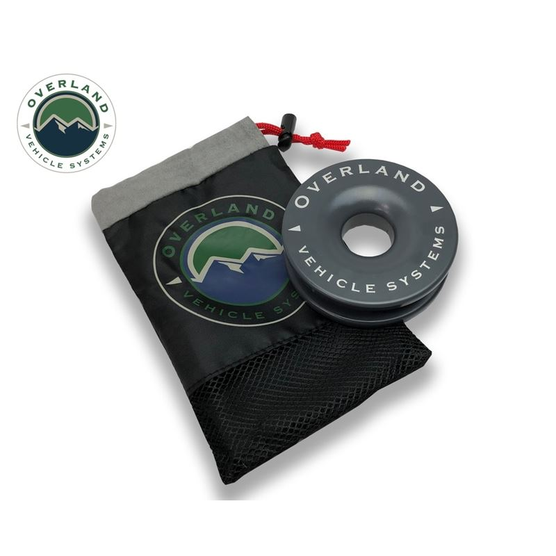 """Recovery Ring 4.00"""" 41,000 lb. Gray With Stor"""