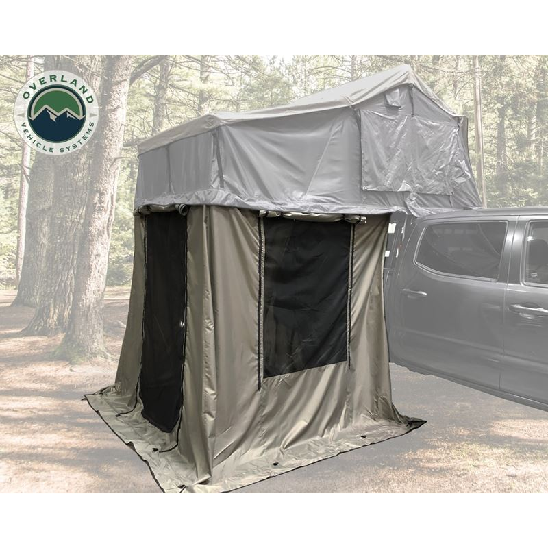 Nomadic 2 Annex - Green Base With Black Floor and