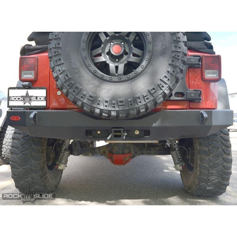 Jeep JK Full Rear Bumper For 07-18 Wrangler JK No