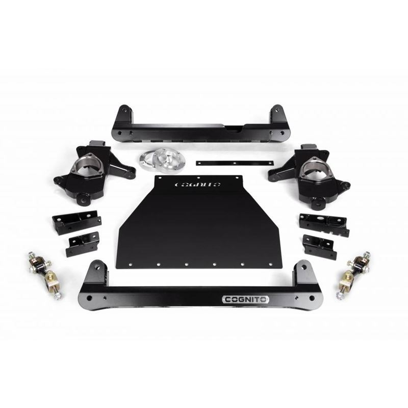 """Cognito 4""""/6"""" Front Suspension Lift Kit"""