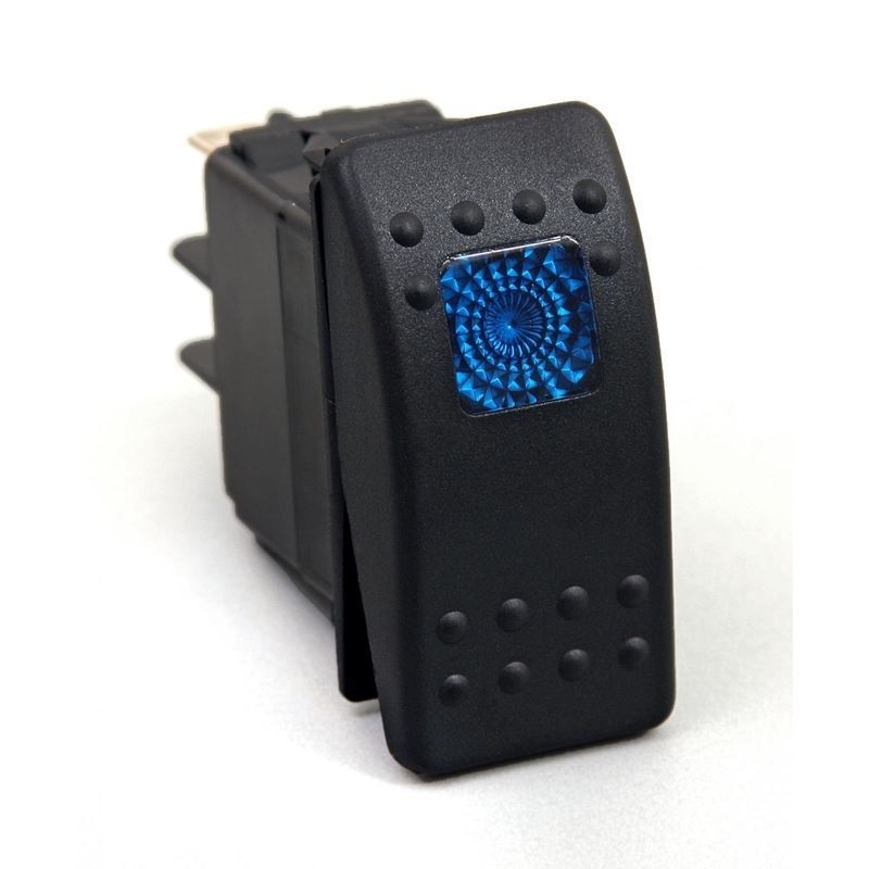 Rocker Switch Blue Light 20 AMP Single Pole