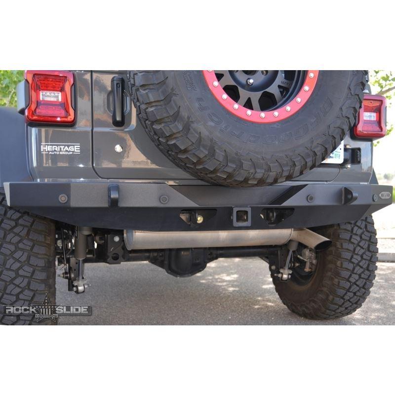 Jeep JL Full Rear Bumper For 18-Pres Wrangler JL N